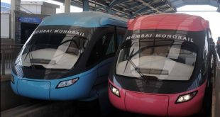 Monorail in Mumbai debuts Sunday 2nd Feb 2014