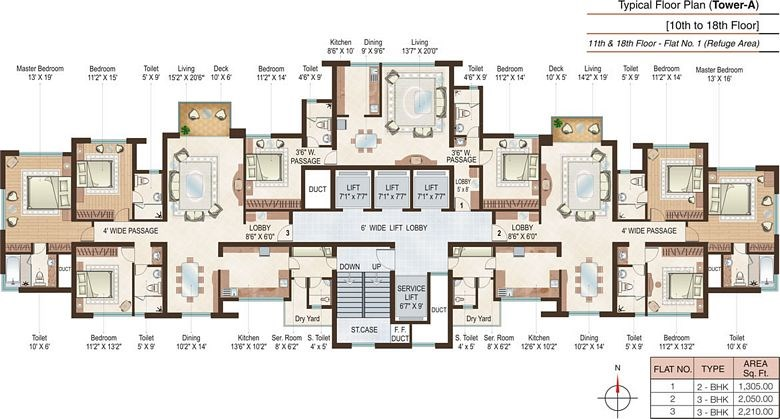 Beaumonde Floor Plan I
