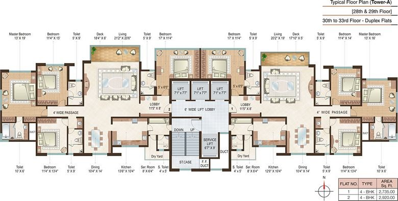 Beaumonde A Floor Plan III