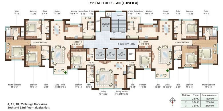 Beaumonde Floor Plan IV