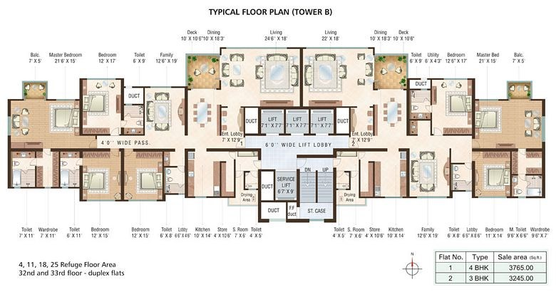 Beaumonde A Floor Plan V