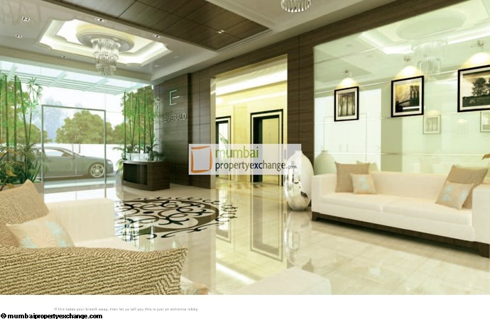 Suvidha Emerald Entrance Lobby