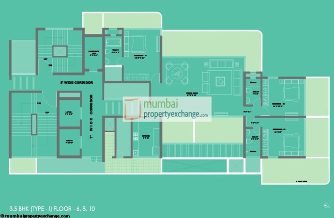 Suvidha Emerald Floor Plan