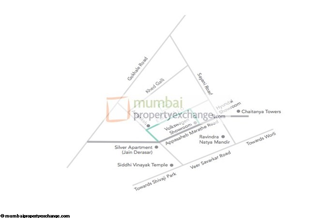 Suvidha Emerald Location Map