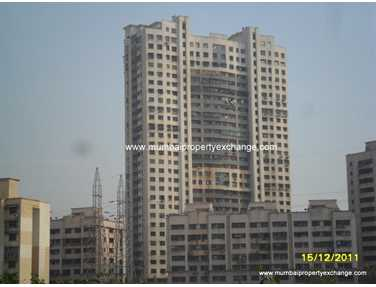 Flat on rent in Cosmic Heights, Wadala