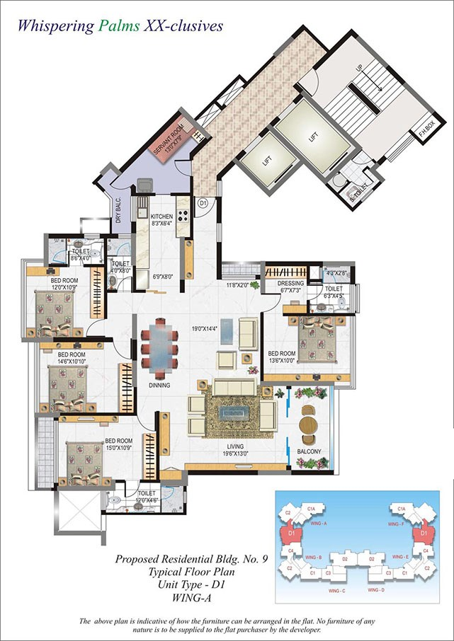 Whispering Palms Floor Plan V