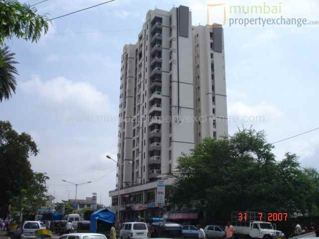 Flat on rent in Cosmos Tower, Thane West