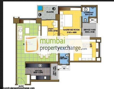 Oberoi Springs unit plan