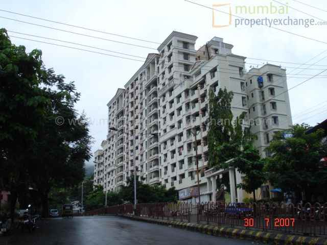 Flat for sale in Cosmos Hills , Thane West