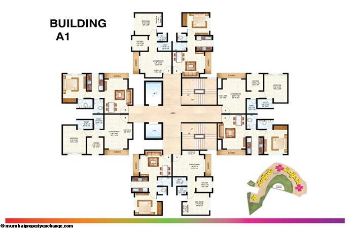 Raunak Bliss Floor Plan