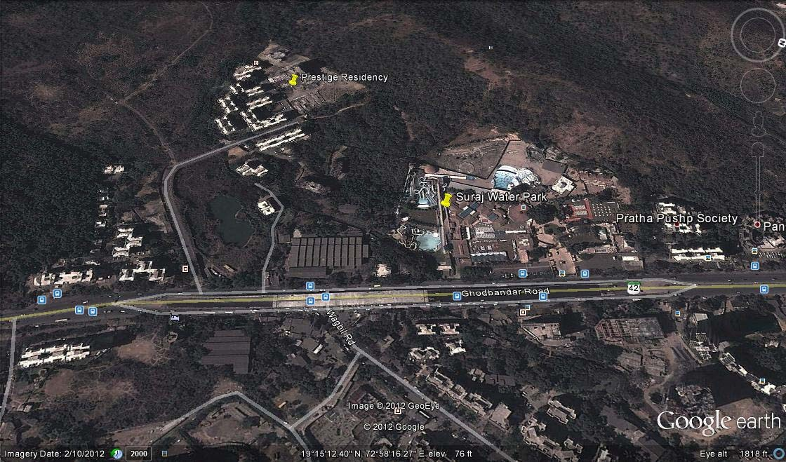 Prestige Residency Google Earth