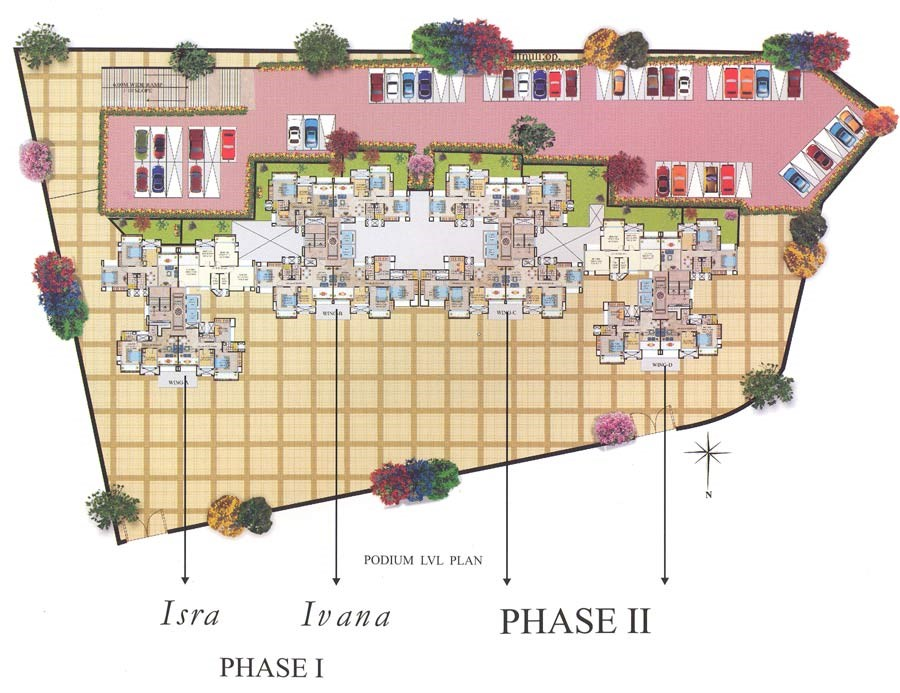 Mahavir Millennium Phase I Lay Out
