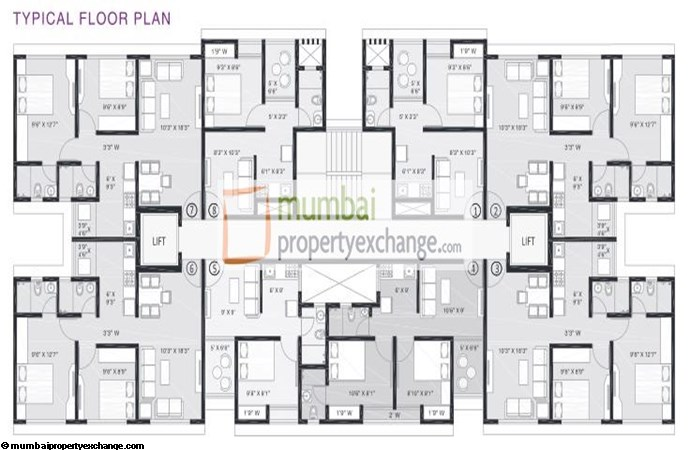 Platinum Corp Tower Floor Plan