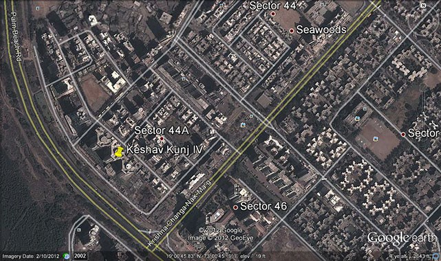 Keshav Kunj IV Google Earth