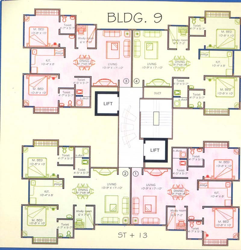 Ozone Valley Floor Plan II