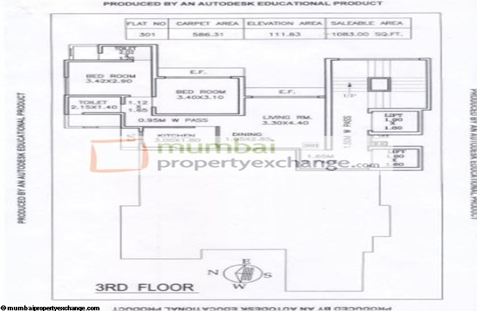 Rajal Friends CHS Floor Plan