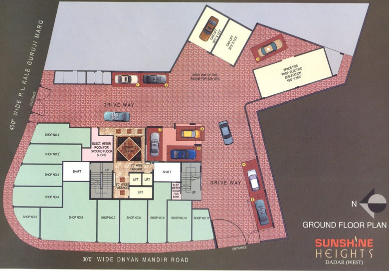 Sunshine Heights Ground Floor Plan
