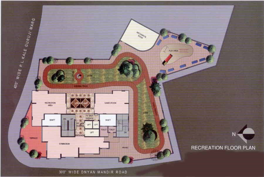 Sunshine Heights Recreation Floor Plan