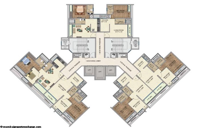 One Park Avenue One Park Avenue Typical Floor Plan Above 21st Floor Avenue 2