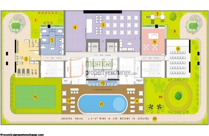Ruparel Jewel Amenities