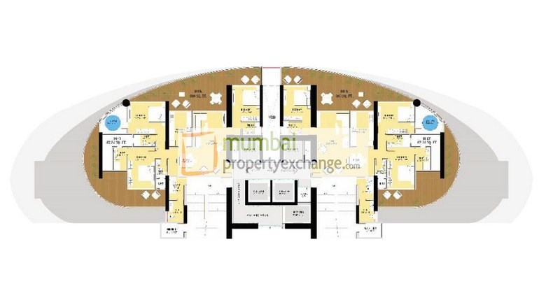 Floor Plan 2BHK1