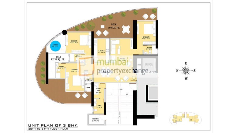 Floor Plan 3 BHK1