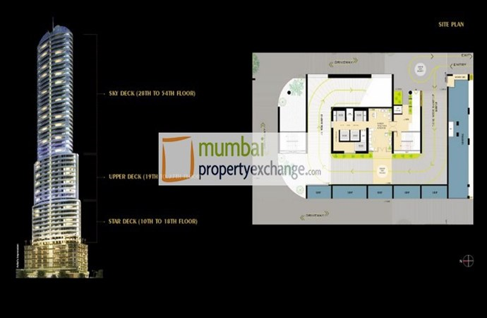 Ruparel Jewel Layout Plan