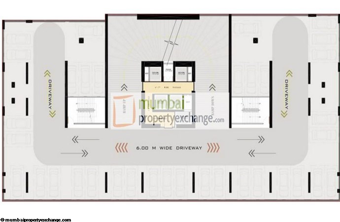 Ruparel Jewel Parking Floor Plan