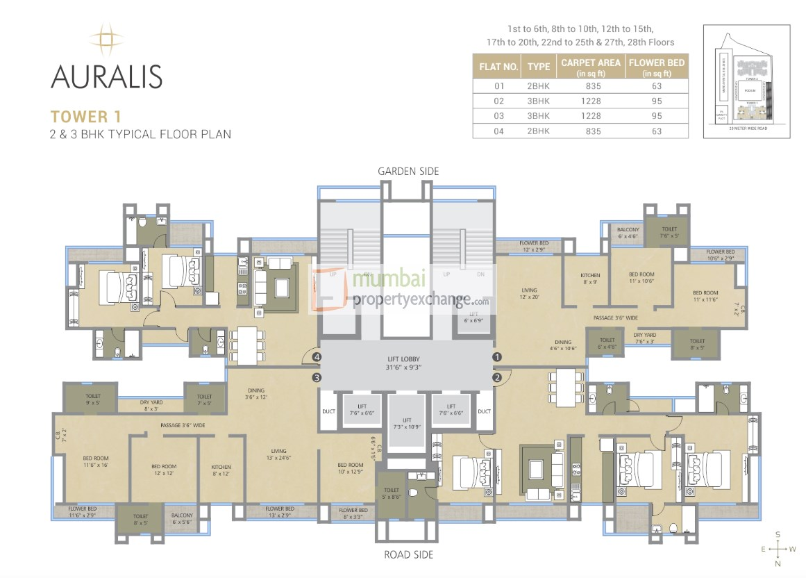 Deep Auralis The Twins Project At Thane West By Nakshatra Group P51700009177