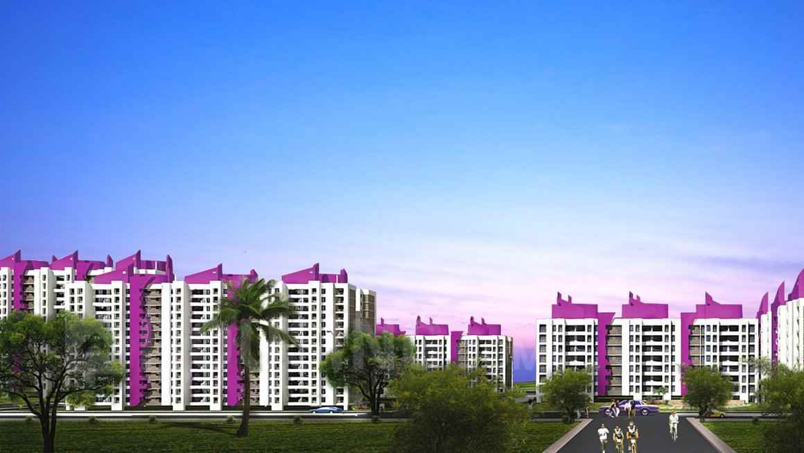 Flat on rent in Puranik City Phase III, Thane West