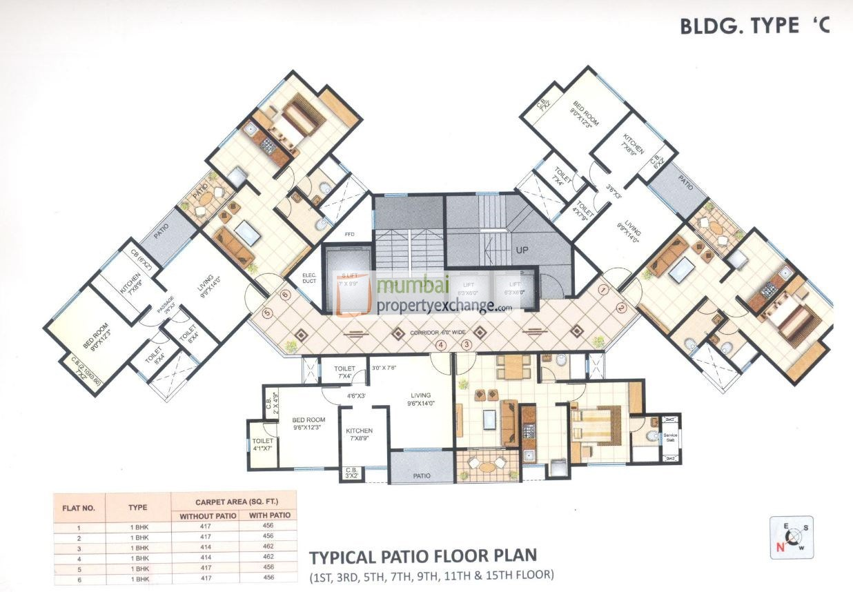 Puranik City Phase III Floor Plan