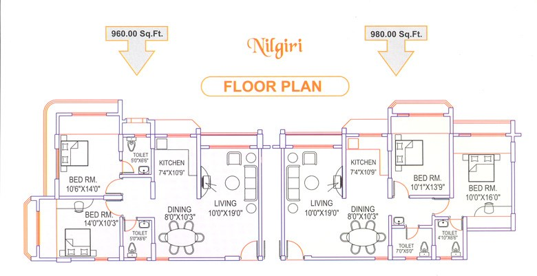 Nilgiri Floor Plan