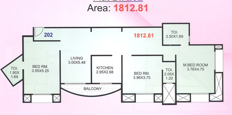Parekh Chambers Floor Plan