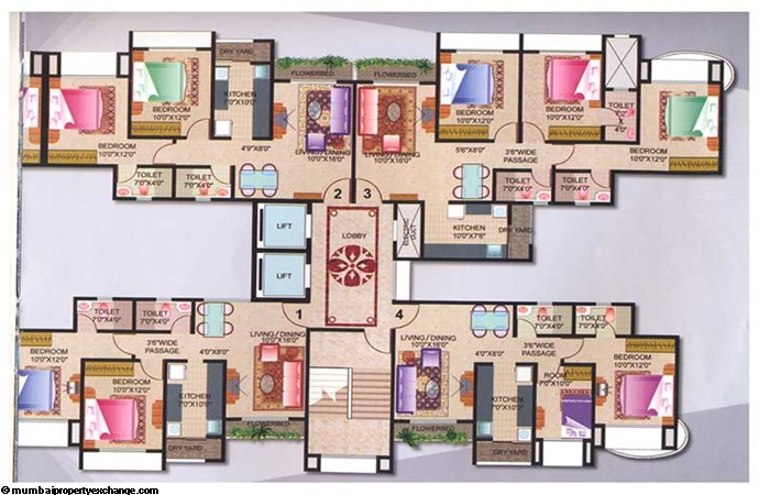 Joy Homes Floor Plan A wing