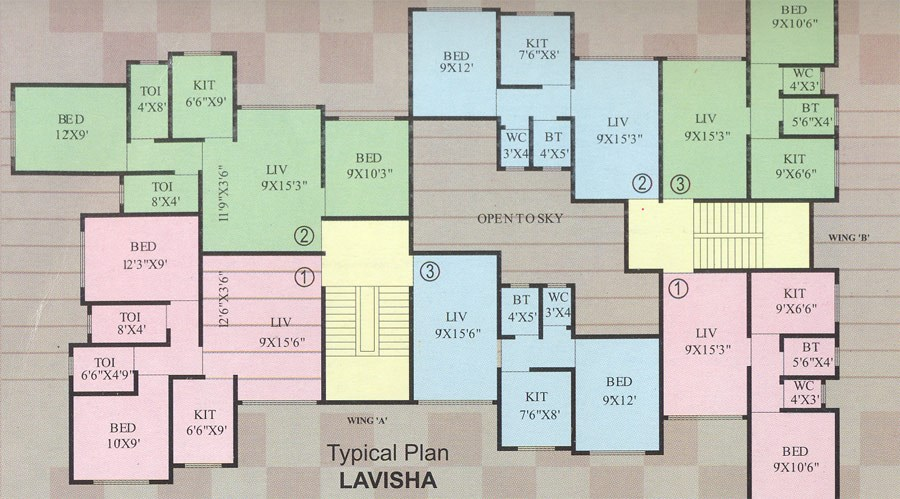 Lavisha Floor Plan