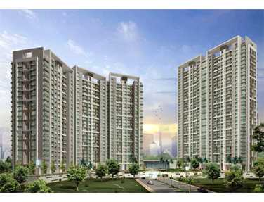Flat on rent in Mahindra Splendour, Bhandup