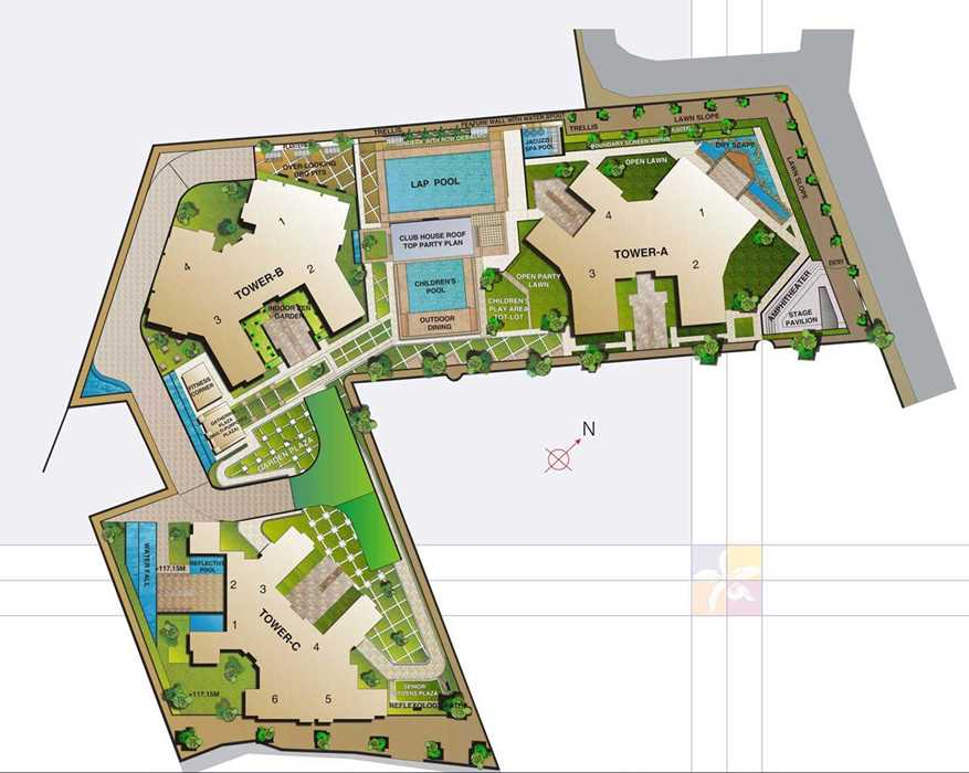 1894 Oth Layout 1  - Orchid Woods, Goregaon East