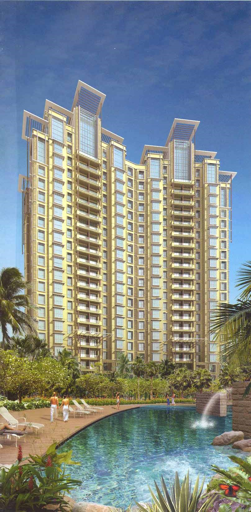 Vasant Lawns Building Image