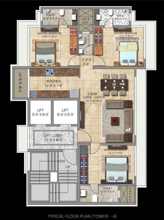 Ananda Residency Project At Borivali West By Paradigm Realty P51800000204