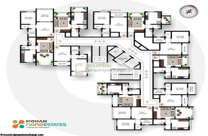 Mohan Nano Estate Floor Plan