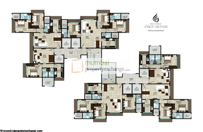 Reliable Ankit Grande Floor plan