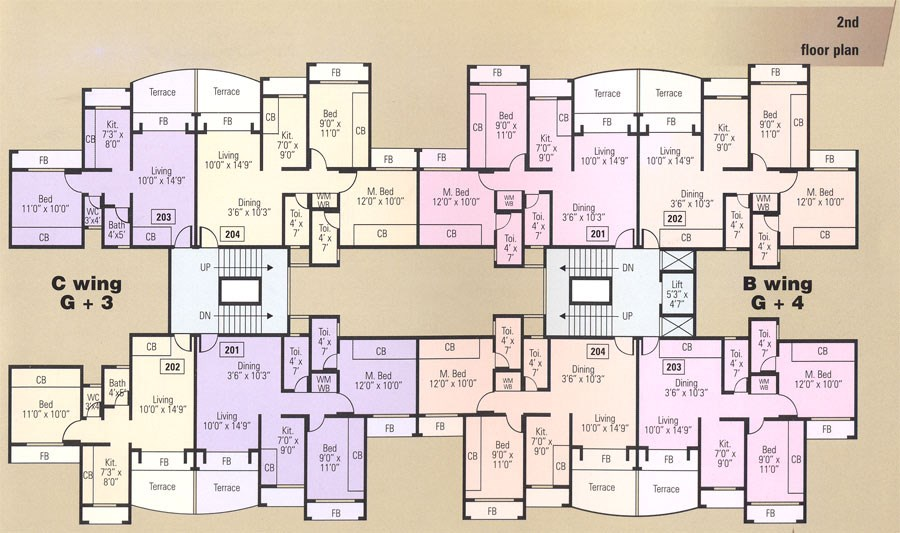 Neel Lake View Floor Plan
