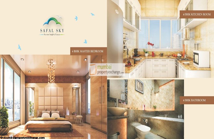 Safal Sky Room Plan