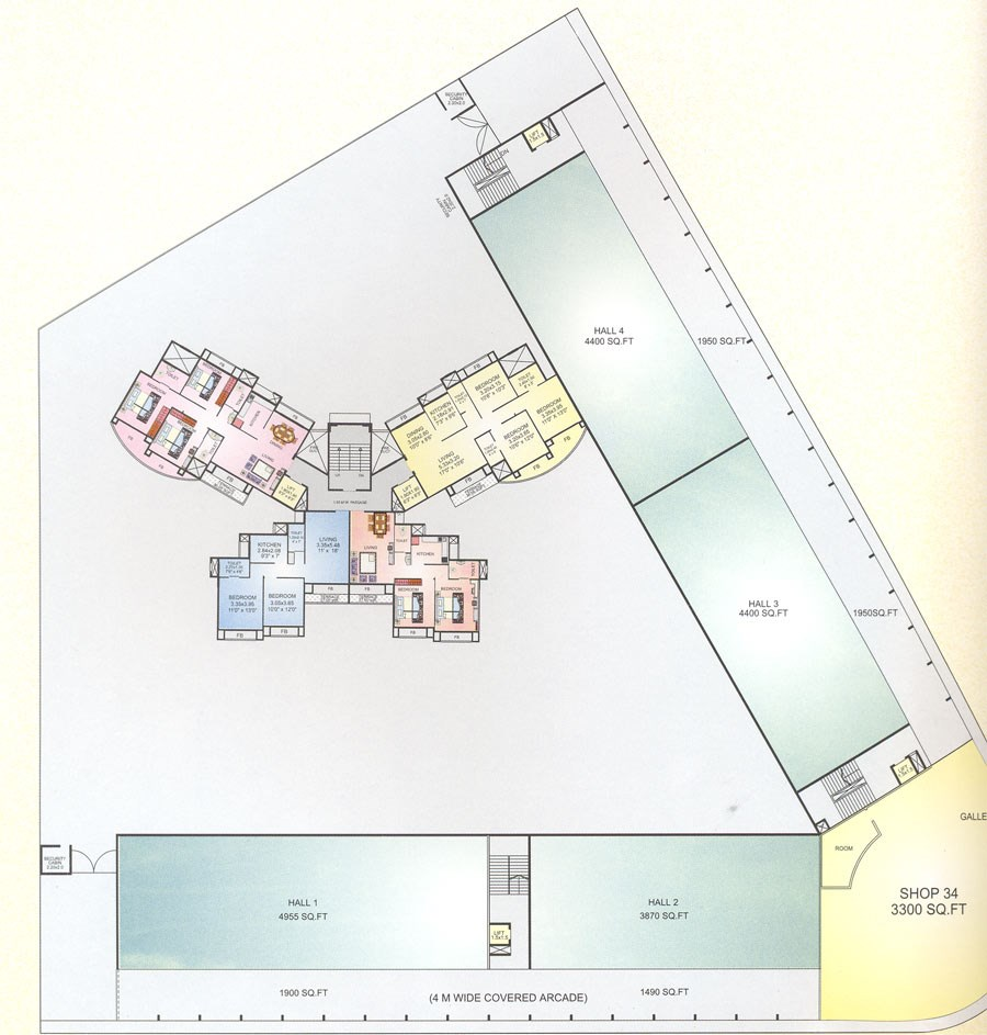 Aum Sai First Floor plan