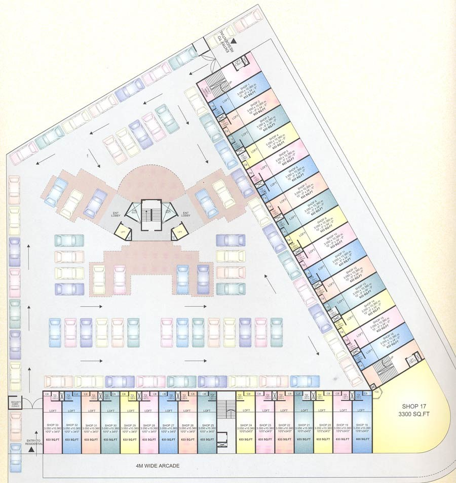 Aum Sai Ground Floor plan