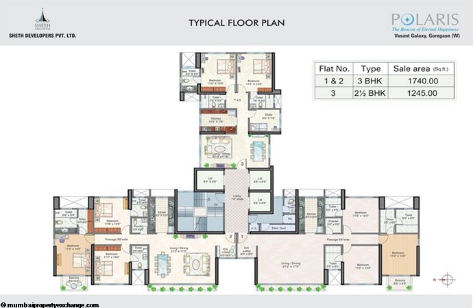 Polaris Floor Plan I