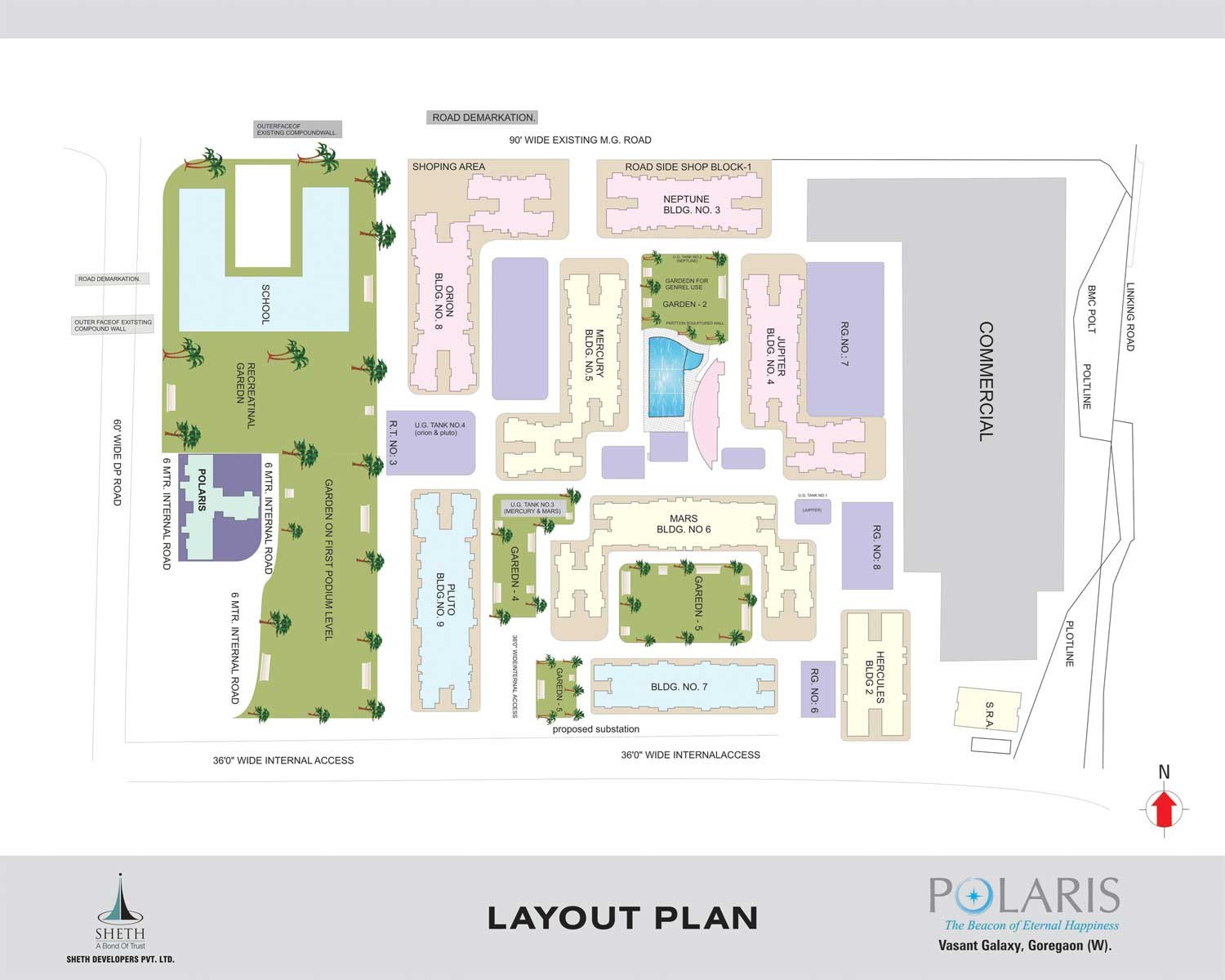 Polaris Lay Out