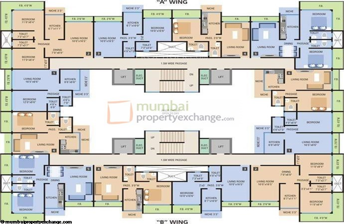 MM Residency Floor Plan