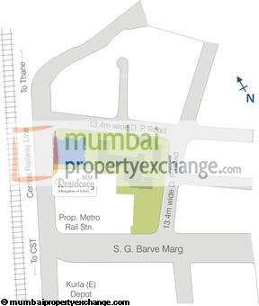 MM Residency Location Plan