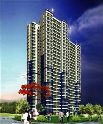 Flat on rent in Neelkanth Greens, Thane West